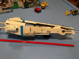 LEGO - SHIPtember 2018 - WIP - much happier with this look. Just have to remake one side as I came up with a better way when I made the second side. Thank you to everyone for the favs and comments. Comments, critiques and suggestions are always welcome.