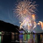 Festival di Fuochi d'Artificio 2018 Omegna - Italy