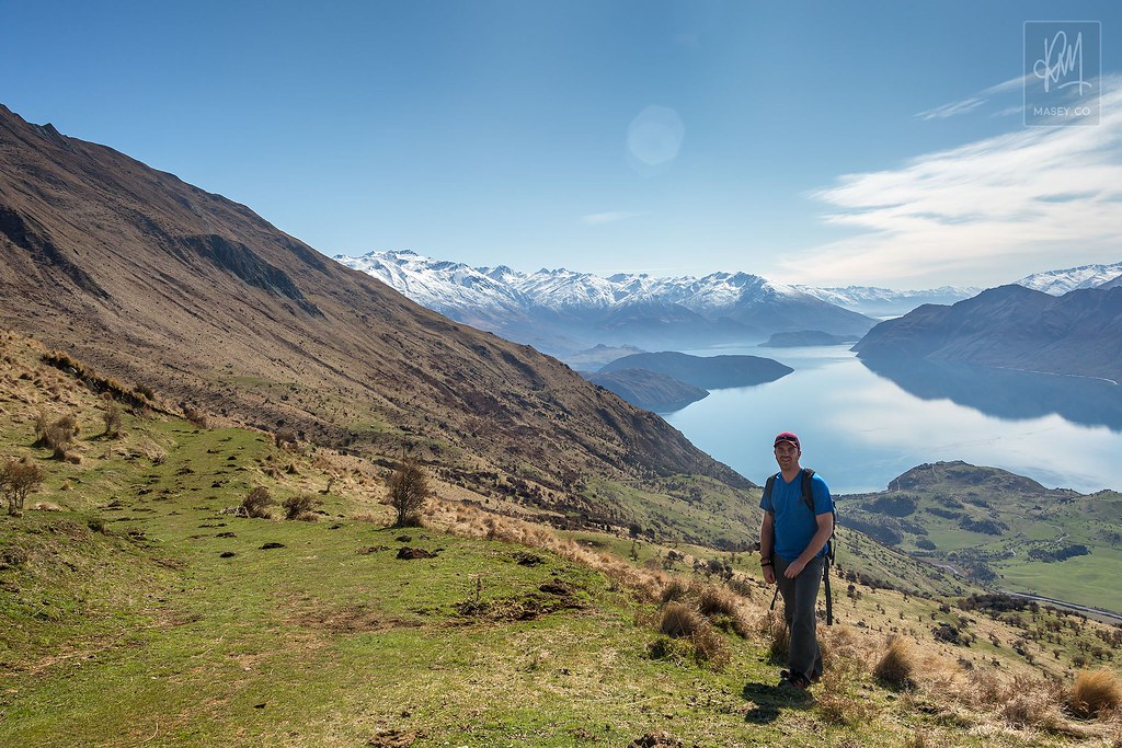 Hiking Roys Peak - Wanaka, New Zealand