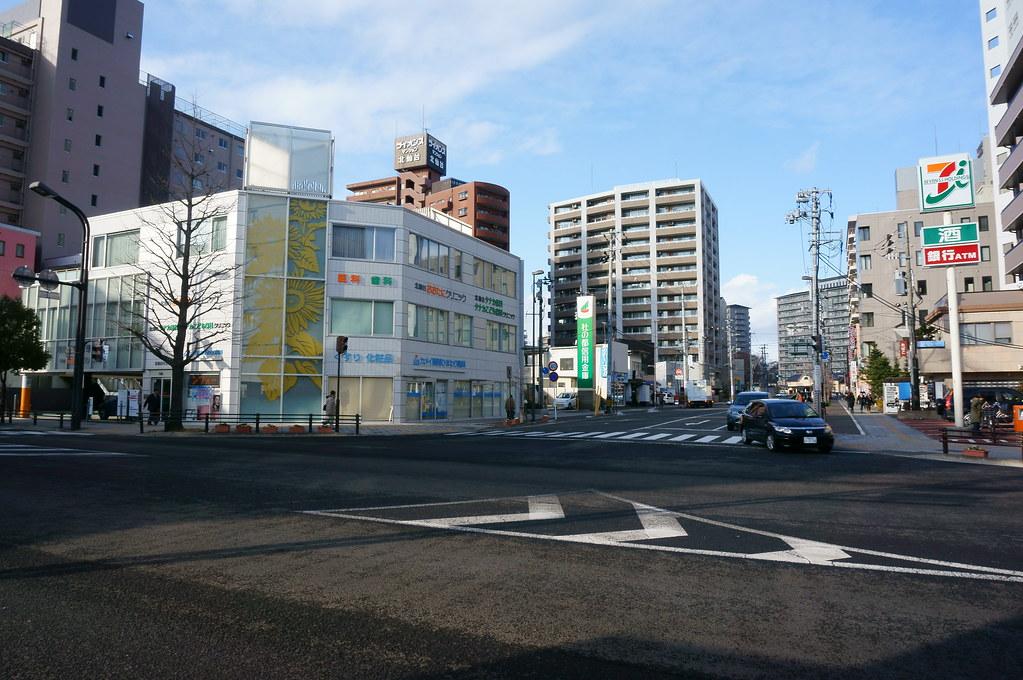 北仙台駅入口交差点