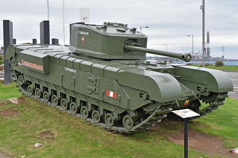 "A22F Churchill Mk.VII 'T251622 / K' ""Carrickfergus"""