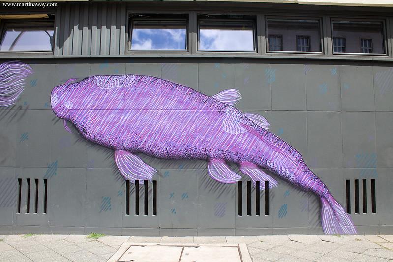 Street art in Stralauerstrasse