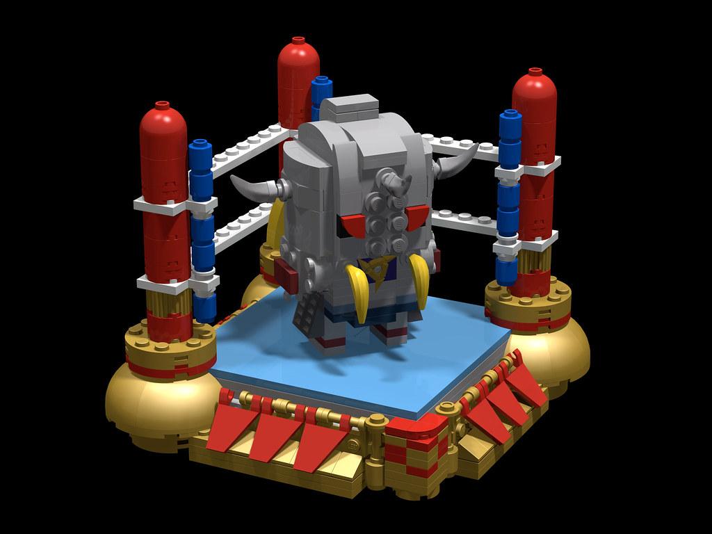Akumashogun 悪魔将軍 Generaldevil 恐怖の将 レゴ作品