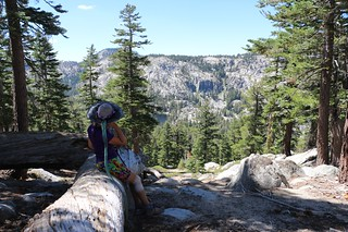 1589 We took a break on the way down from Jakes Peak - Rubicon Lake below us and Phipps Peak on the left | by _JFR_