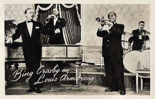 Bing Crosby and Louis Armstrong in High Society (1956)