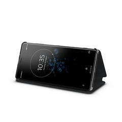 Xperia XZ3_Style Cover Stand SCSH70_Fronthoriz_Front40_Black