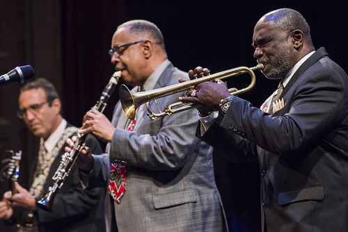 Dr. Michael White Quartet at the WWOZ Groove Gala on September 6, 2018. Photo by Ryan Hodgson-Rigsbee www.rhrPhoto.com