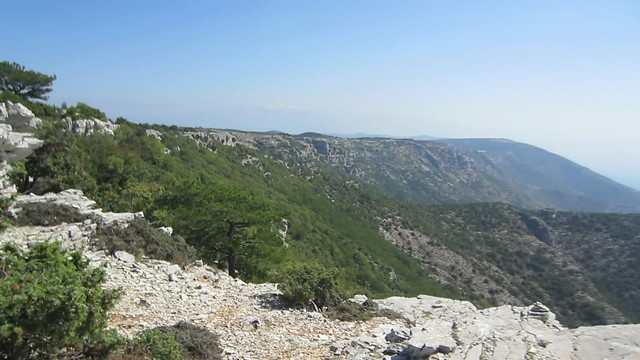 Pogled s Vidove gore - The view from Vidova gora