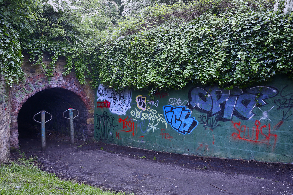 Tunnel, Birmingham Mainline Canal, Wolverhampton 25/05/2018