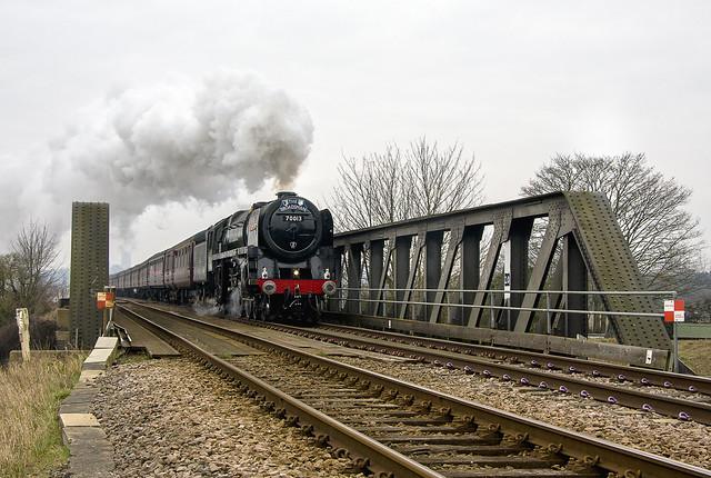 BR Britannia Class 4-6-2 No. 70013 Oliver Cromwell