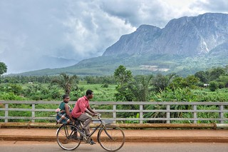 Bike taxi near Mulanje | by Peter Gostelow