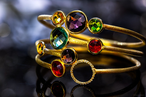 Jewels of many colors