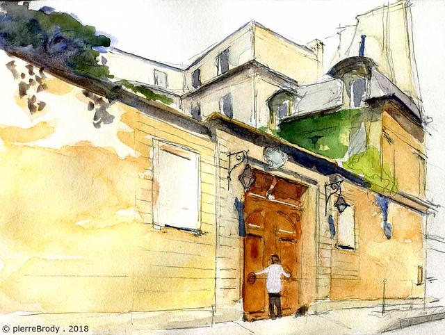rue Payenne, à Paris