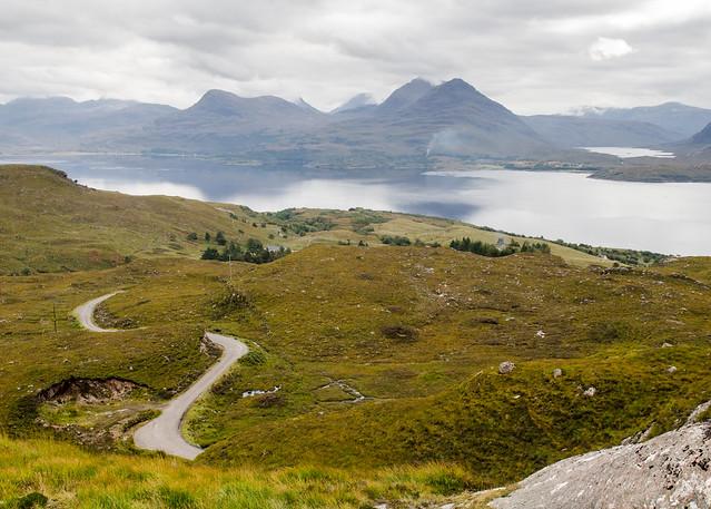 Ben Damph on Loch Torridon