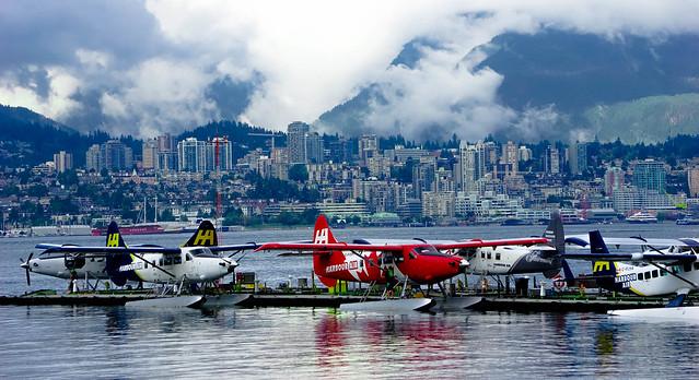 Seaplanes in Coal Harbour