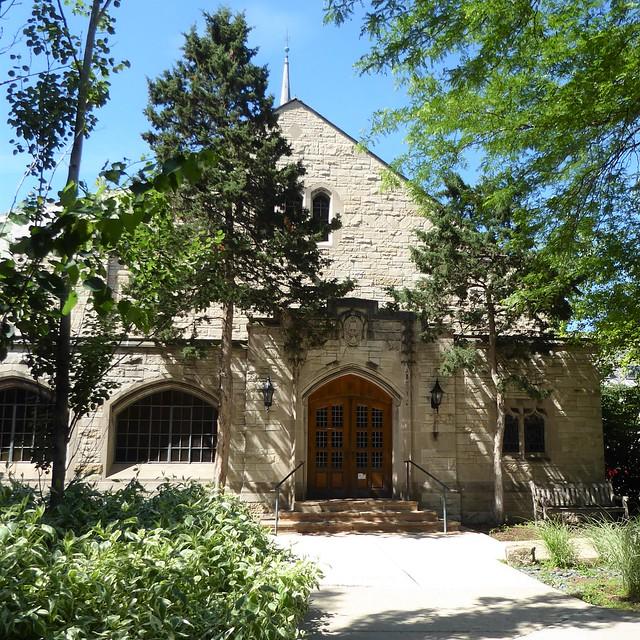 Evanston, IL, Northwestern University Campus, Lutkin Hall