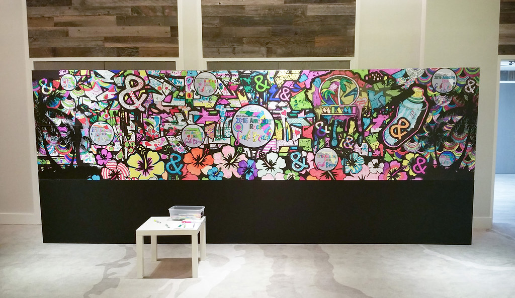 - Interactive Coloring Wall - A Photo On Flickriver