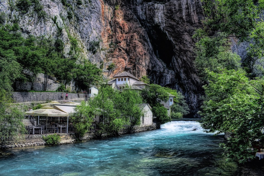 Blagaj, Dervish House and Buna River
