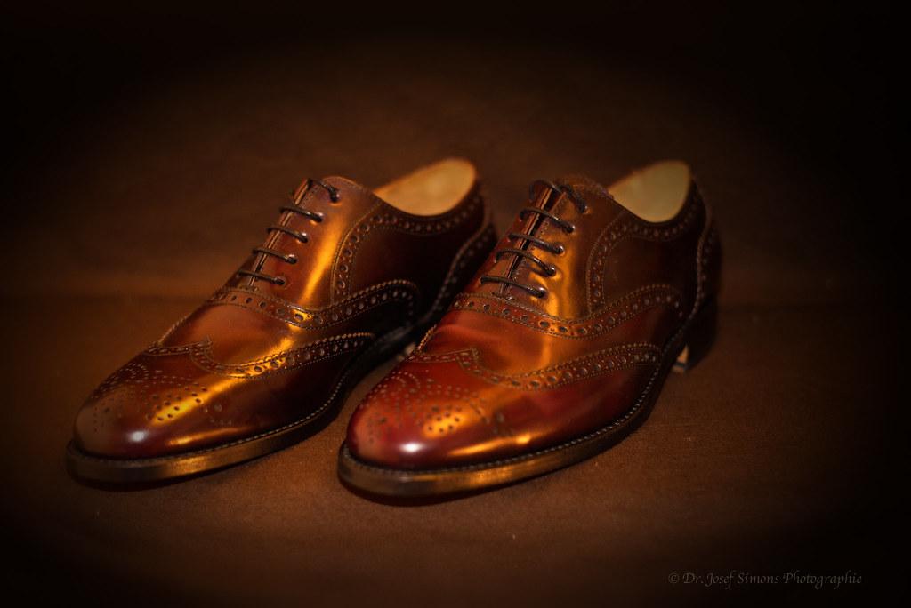 Feine Herrenschuhe | Rahmen genähte Full Brogue Oxford Schuh