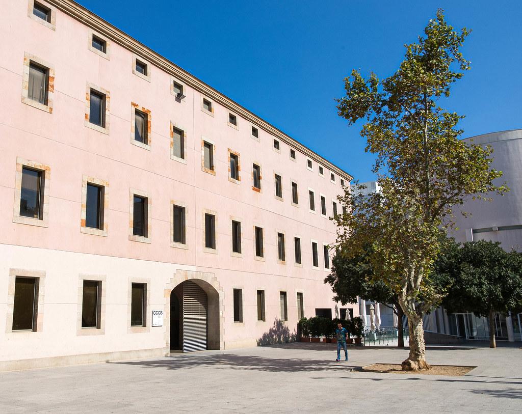 Placa de Joan Coromines, El Raval   CCCB -The Centre de Cult…   Flickr