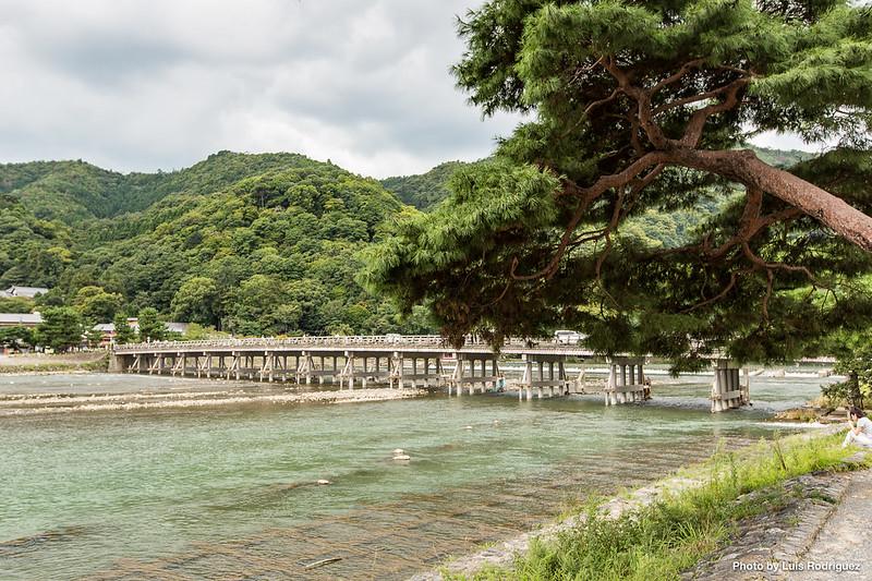 Puente Togetsukyo, en Arashiyama