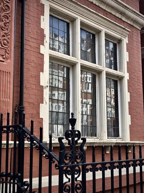 Window reflection, Westminster neighborhood