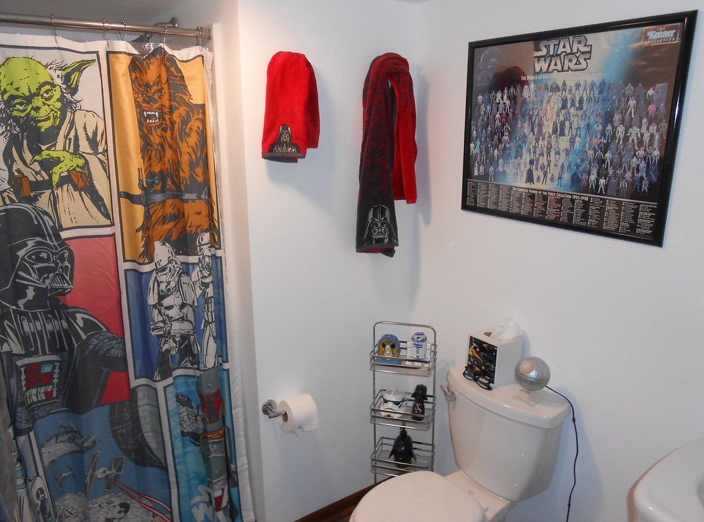Star Wars Bathroom | Star Wars Bathroom | Darth Ray | Flickr