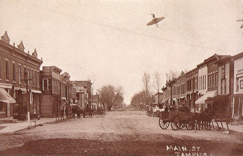 Main Street - Tampico, Illinois 1900. | by Cragin Spring
