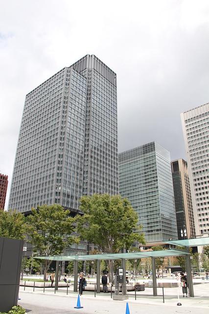 Marunouchi district , Tokyo 09.09.2018