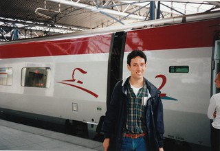 Boarding a Thalys train in Brussels, 16/9/1998 | by Daniel Bowen