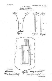 pocket_rule_holder_patent_816544 | by buler2008