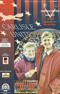 Carlisle V York City 22-12-95 | by cumbriangroundhopper