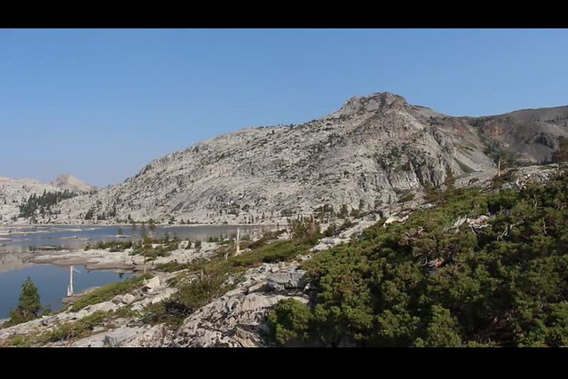 0324 Panorama video from the eastern shore of Lake Aloha on the PCT-TRT