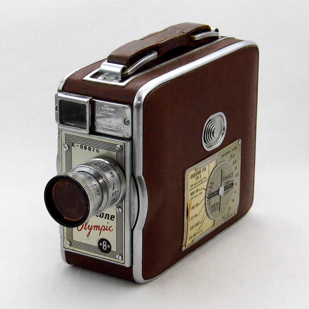 8Mm Vintage Camera vintage keystone olympic 8mm roll film home movie camera