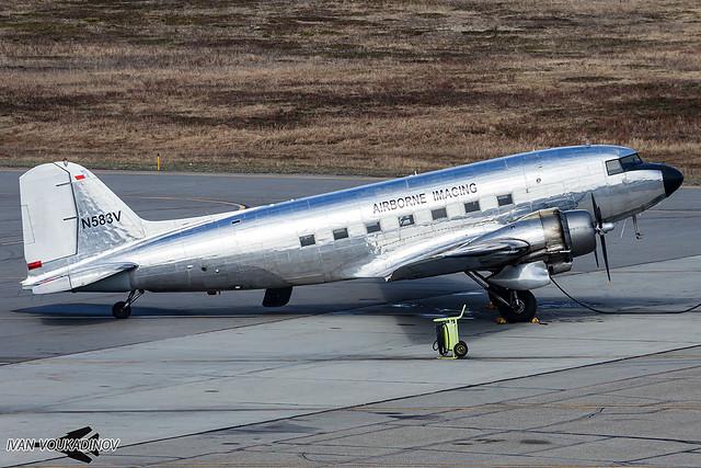 C-47A N583V Airborne Imaging