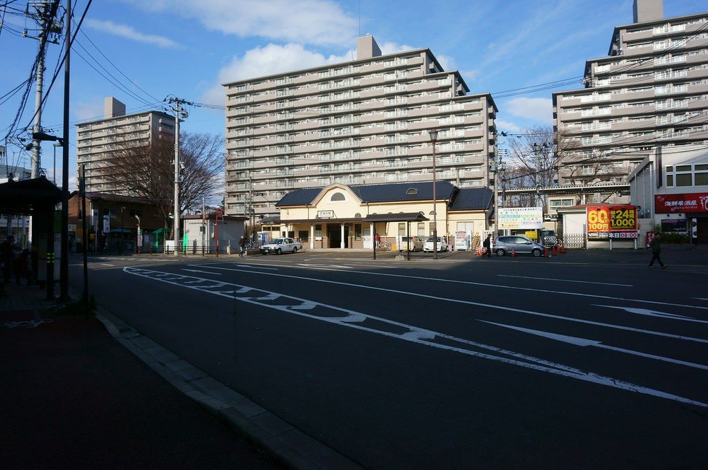 JR北仙台駅前