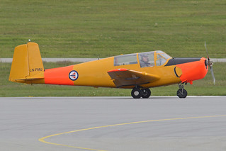 Saab 91B Safir 'LN-FMU' | by Hawkeye UK