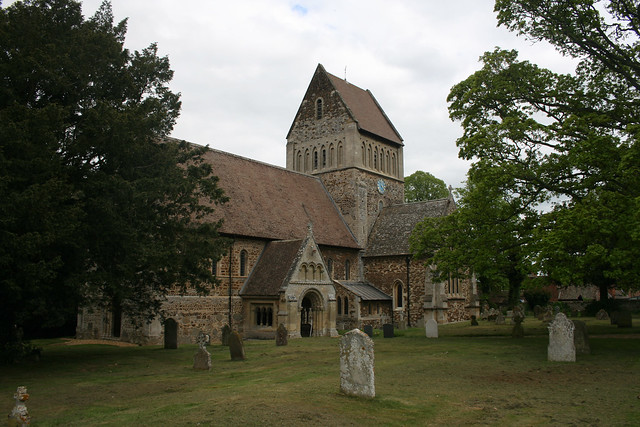 The church in Castle Rising