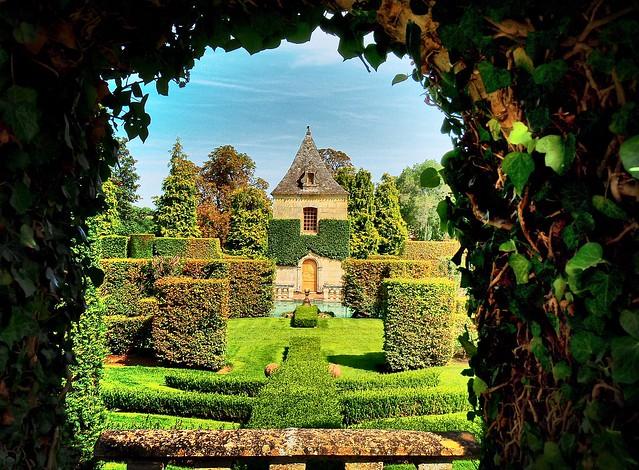 Erygnac et ses Jardins, Perigord, France