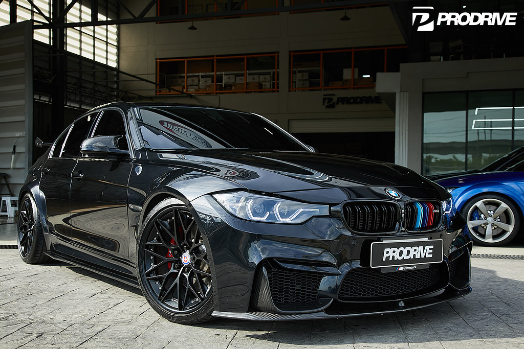 Bmw F30 3 Series With M3 Body Kit With Hre S200 Wheels In