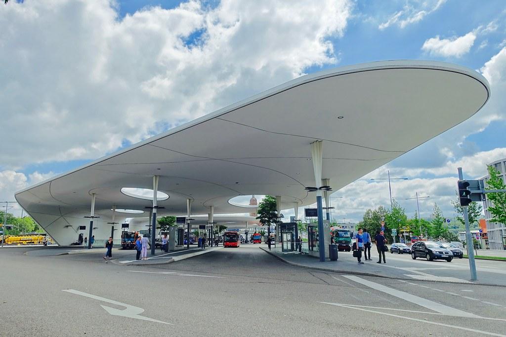 Pforzheim Central Bus Station, Germany | METARAUM Architekte