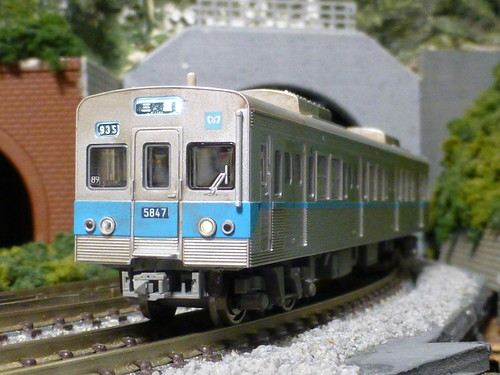 MicroAce Tokyo Metro 5000 Series | by railsquid