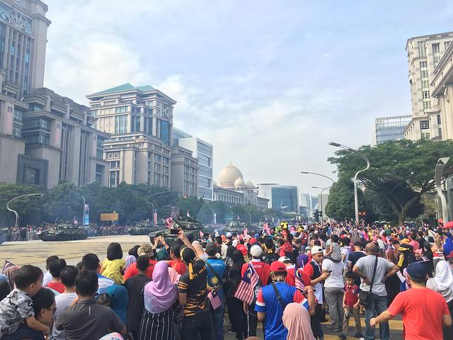 MERDEKA. Malaysia's 61st Independence Day at Putrajaya. #310818 #malaysia #new #celebrate #patriot #photo