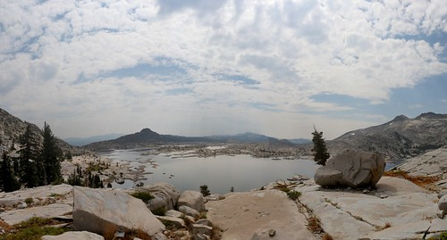 0444 Panorama view south over Lake Aloha from the Rubicon Trail as it climbs higher toward Mosquito Pass | by _JFR_