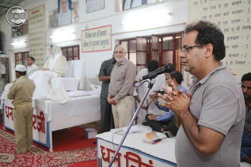 SNM Branch Sanyojak, Ravi Kumar, expresses his views