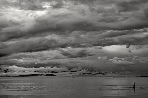 clouds cloudy storm ocean pacific juandefuca salishsea victoria britishcolumbia