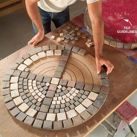 Flowers And Garden Ideas Diy Outdoor Mosaic Table Flickr