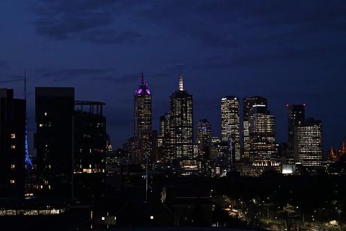 Melbourne skyline, east end | by Joe Lewit