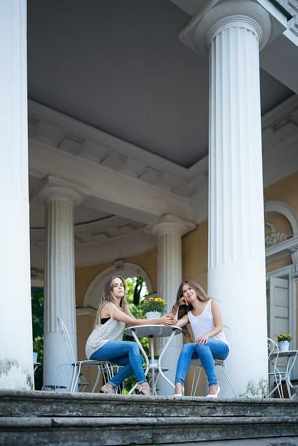 Anastasia and Polina