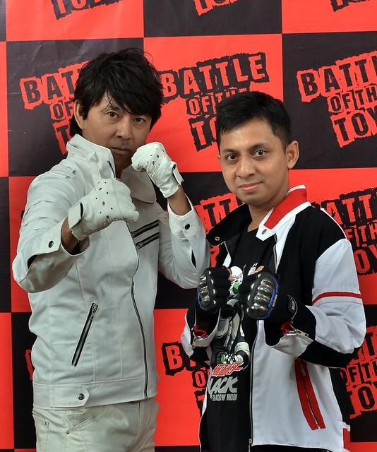 Me and Tetsuo Kurata (Kotaro Minami / Kamen Rider Black / Black RX)